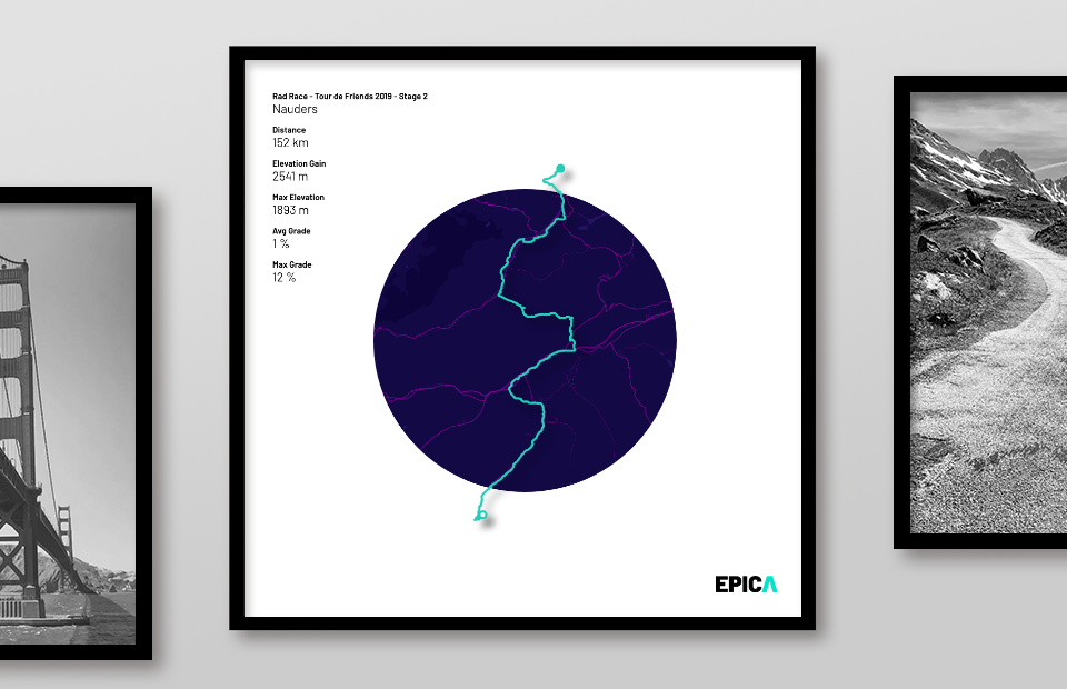 An arty mix of simple shapes and colors to stage your epic activity in a timeless way.